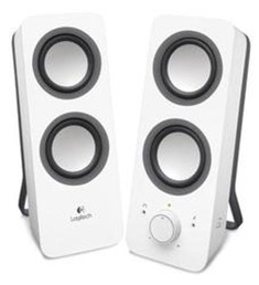 4b9d43d1abc Logitech Z200 Multimedia Speakers Snow White [980-000851] : PC Case Gear