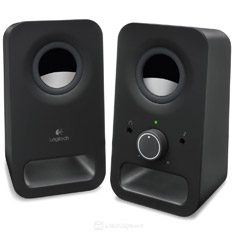 Logitech Z150 Multimedia Speakers Midnight Black