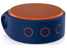 Logitech X100 Mini Bluetooth Mobile Speaker Blue/Orange