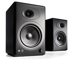 Audioengine 5+ Premium Powered Speakers Black