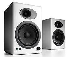 Audioengine 5+ Premium Powered Speakers White