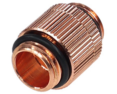 Alphacool G1/4 M-M Extender Shiny Copper