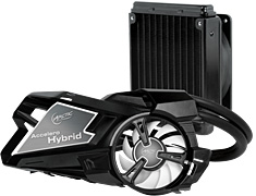 Arctic Cooling Accelero Hybrid LCS Cooler