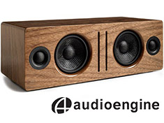 Audioengine B2 Bluetooth Speaker Walnut