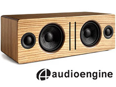 Audioengine B2 Bluetooth Speaker Zebrawood
