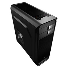 Aerocool Aero-500 Black Mid-Tower Case with Window