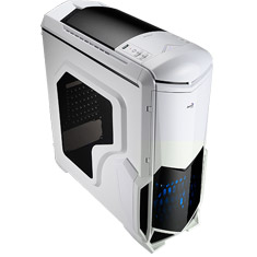 Aerocool Battlehawk Mid Tower Case White