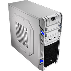 Aerocool GT Advance Mid Tower Case White