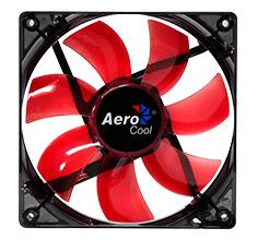 Aerocool Lightning 120mm Red LED Fan