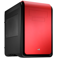 Aerocool Dead Silence Cube with Window Devil Red Edition