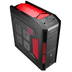 Aerocool X-Predator Case Devil Red Edition
