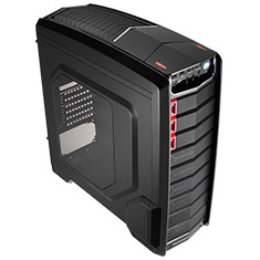 Aerocool GT-A Mid Tower Case Black Edition