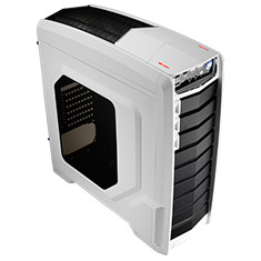 Aerocool GT-A Mid Tower Case White Edition