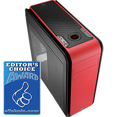 Aerocool DS 200 Red Edition Case with Window