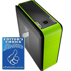 Aerocool DS 200 Green Edition Case with Window