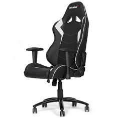 AK-Racing Octane Office/Gaming Chair Black/White [AK-OCTANE-WT] : PC
