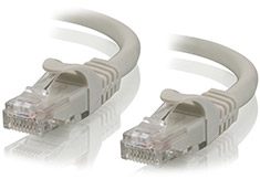 Alogic Cat6 Network Cable 0.3m Grey