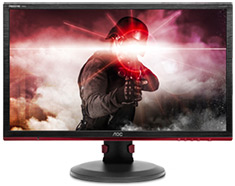 AOC G2460PF FHD 144Hz FreeSync 24in TN Gaming Monitor