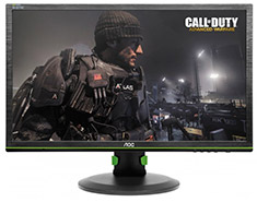 AOC G2460PG FHD 144Hz G-Sync 24in TN Gaming Monitor