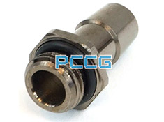 Aqua Tuning 10mm Compression Fitting G1/4 with O-Ring Black