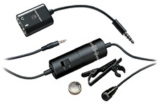 Audio-Technica ATR3350iS Omnidirectional Condenser Microphone