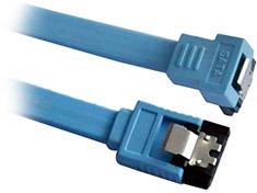 Astrotek SATA III 90 Degree Cable 50cm Blue