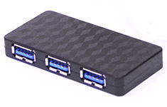 Astrotek 4 Port USB 3.0 Hub with Power Adapter