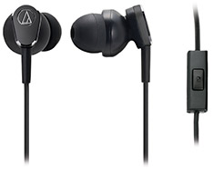 Audio-Technica ATH-ANC33iS Noise-Cancelling In Ear Headphones