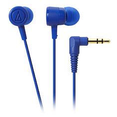 Audio-Technica ATH-CKL220 DIP In Ear Headphones Blue