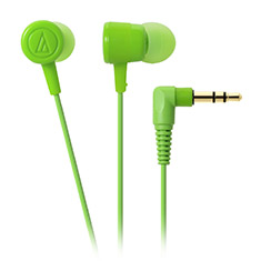 Audio-Technica ATH-CKL220 DIP In Ear Headphones Green