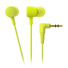 Audio-Technica ATH-CKL220 DIP In Ear Headphones Lime