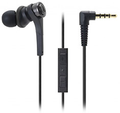 Audio-Technica ATH-CKS550iS In Ear Headphones Black