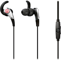 Audio-Technica ATH-CKx5iS SonicFuel In-Ear Headphones Black