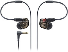 Audio-Technica ATH-IM01 Inner Ear Monitor Headphones