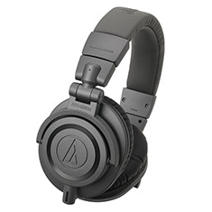 Audio-Technica ATH-M50X Professional Studio Headphones Grey