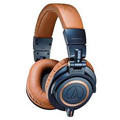 Audio-Technica ATH-M50X Professional Studio Headphones Blue