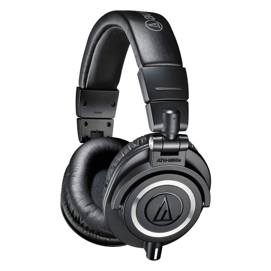 Audio-Technica ATH-M50X Professional Studio Headphones Black