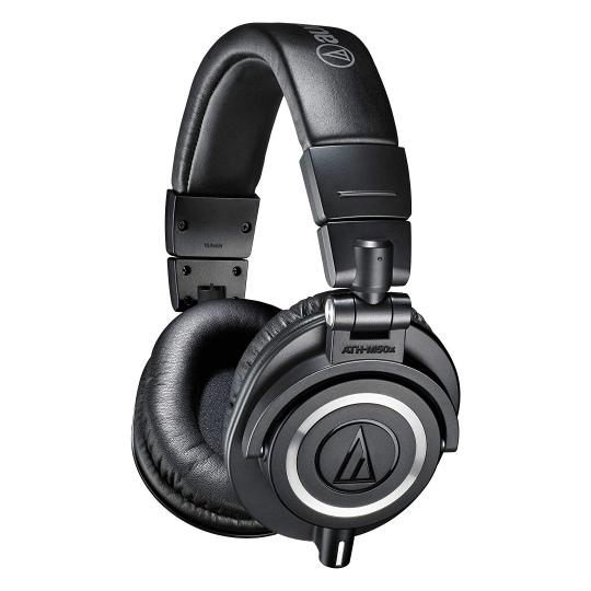 Audio-Technica ATH-M50X Professional Studio Headphones Black