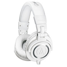 Audio-Technica ATH-M50X Professional Studio Headphones White