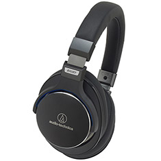 Audio-Technica ATH-MSR7 Premium Hi-Res Headphones Black