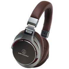 Audio-Technica ATH-MSR7-GM Premium Hi-Res Headphones Gun Metal