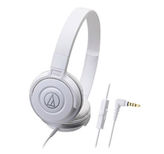 Audio-Technica ATH-S100iS Portable Headset White