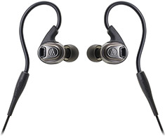 Audio-Technica ATH-SPORT3 Black In-Ear Sport Headphones