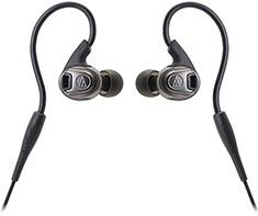 Audio-Technica ATH-SPORT3 Black In-Ear Sport Headphones