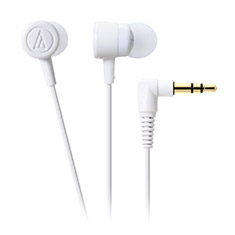 Audio-Technica ATH-CKL220 DIP In Ear Headphones White