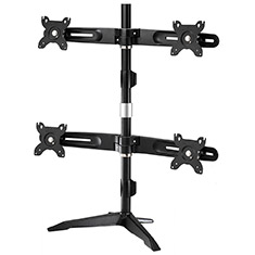 Aavara AV-DS400 Quad 17-24 Inch Monitor Stand