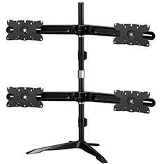 Aavara AV-DS410 Quad 24-32 Inch Monitor Stand