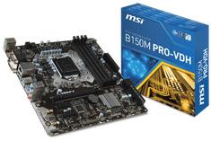 MSI B150M PRO VDH Motherboard
