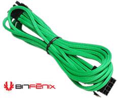 BitFenix Sleeved 8-Pin VGA Power Cable 45cm Green