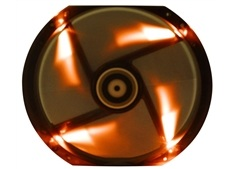 BitFenix Spectre 230mm Black Tinted Orange LED Fan